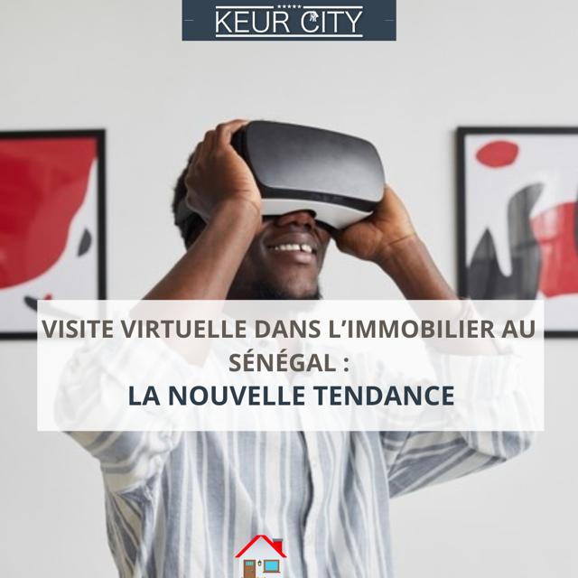 Visite virtuelle immobilier Sénégal