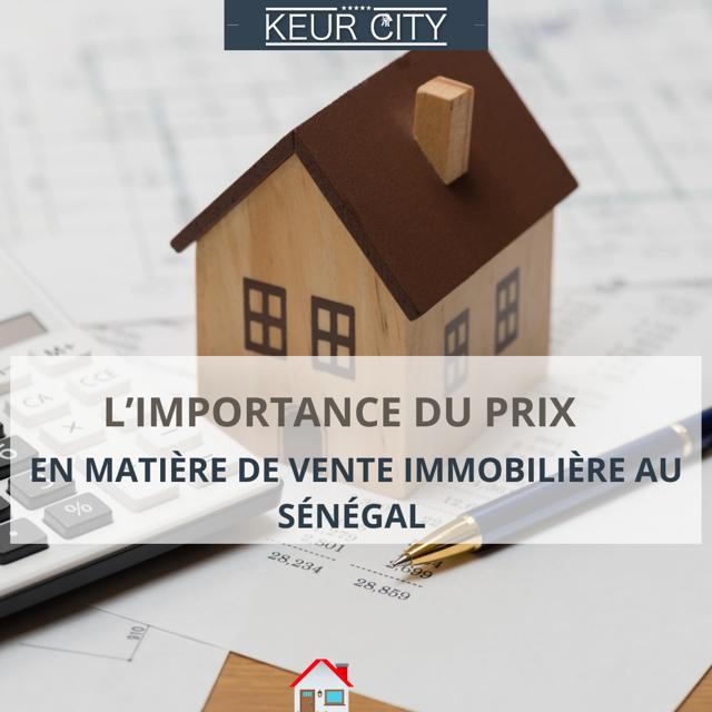 prix de vente immobilier sénégal