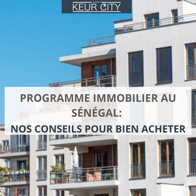 programme immobilier Sénégal