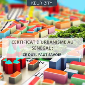 certificat urbanisme Sénégal