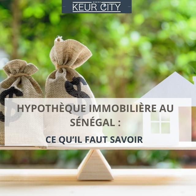 Hypothèque immobilier Sénégal