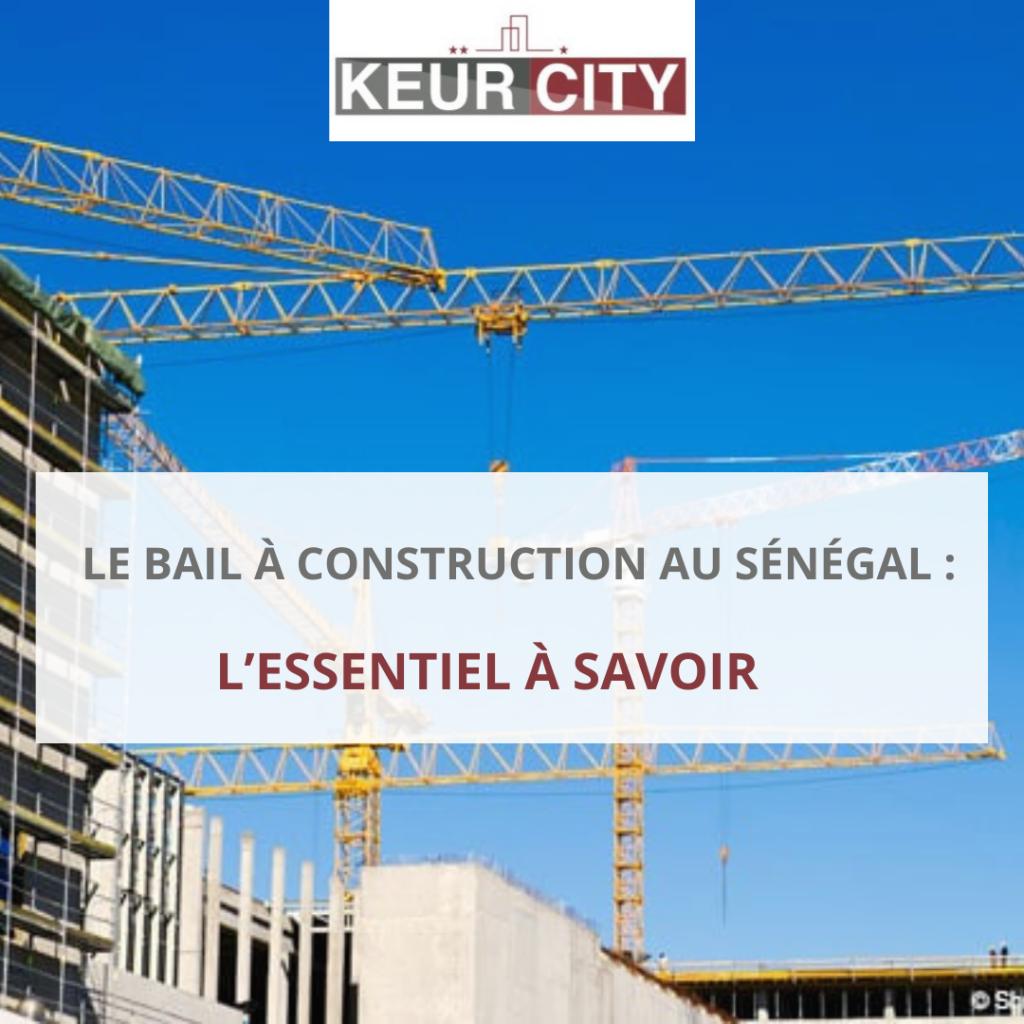 bail à construction Sénégal