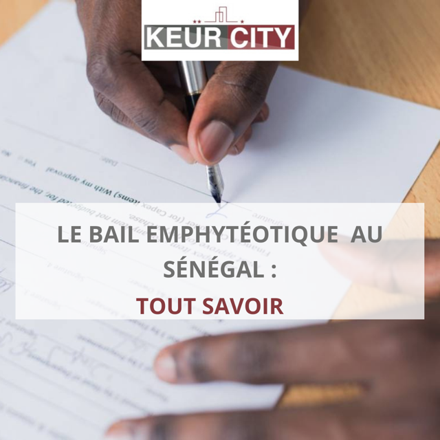 bail emphytéotique Sénégal