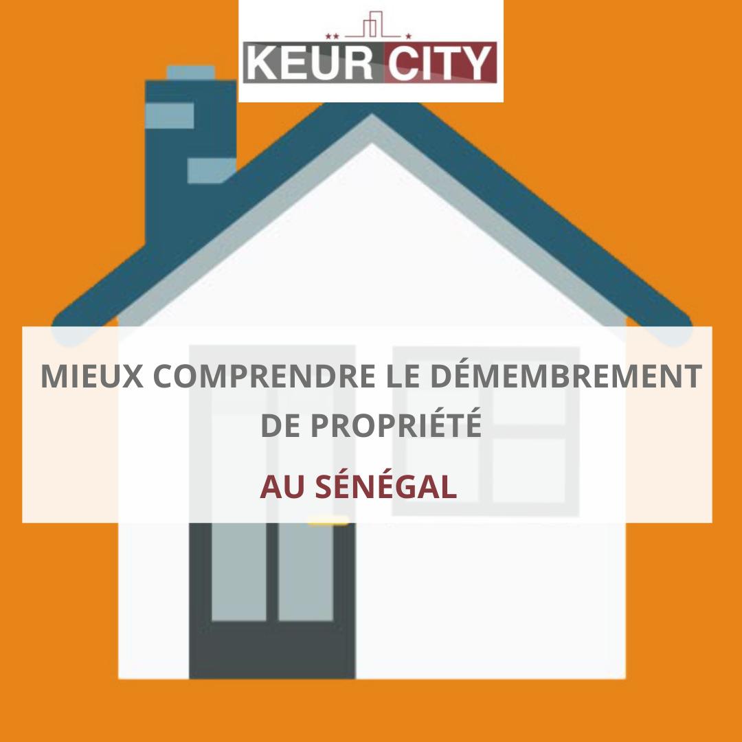 Démembrement de propriété au Sénégal