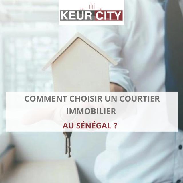 Courtier immobilier Sénégal