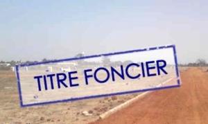 Immatriculation titre Sénégal