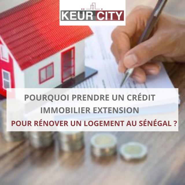 crédit immobilier extension sénégal