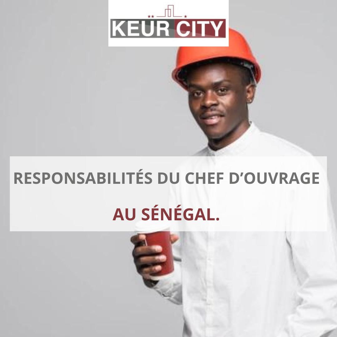 Maitre d'ouvrage Sénégal