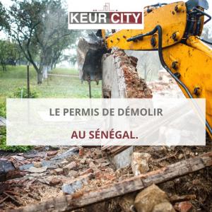 Permis de démolir au Sénégal