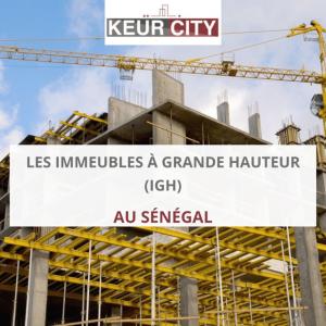 immeubles à grande hauteur (IGH) au Sénégal