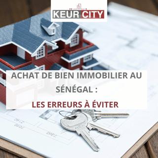 Achat bien immobilier Sénégal