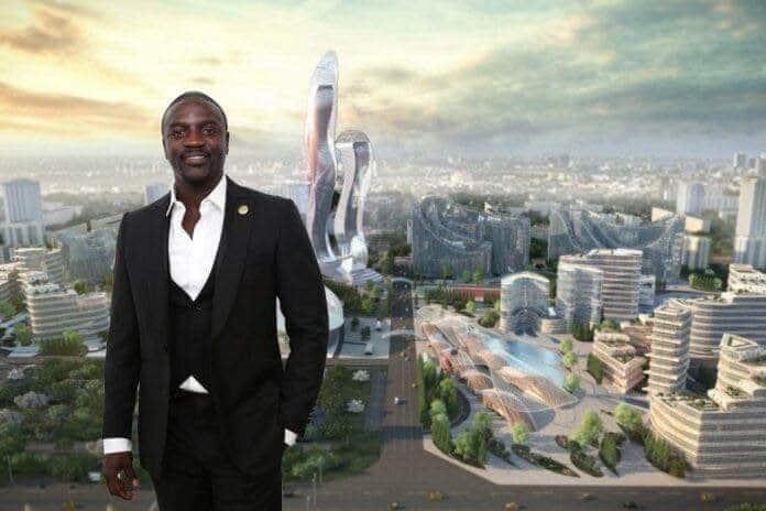 Akon City _ Projet immobilier Sénégal