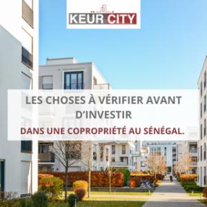 Investir dans une copropriété au Sénégal