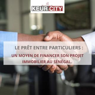 Prêt entre particuliers au Sénégal_