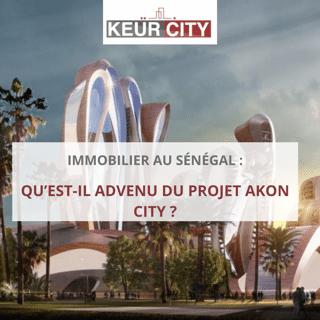 akon city _ immobilier au sénégal