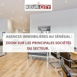 liste agences immobilières au Sénégal
