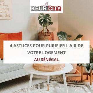Purifier air logement Sénégal