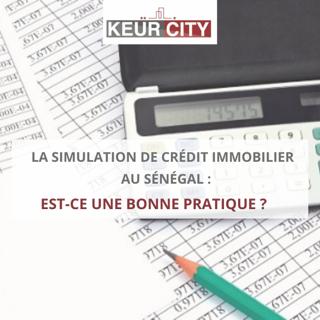 Simulateur crédit immobilier Sénégal