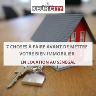 Location bien immobilier Sénégal